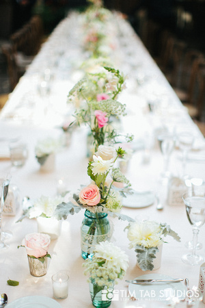 11. A New Leaf Wedding. Tim Tab Studios. Sweetchic Events. Intimate Garden Wedding. Feasting Table. Collection Centerpieces. Soft Palette. Queen Anne's Lace..jpg