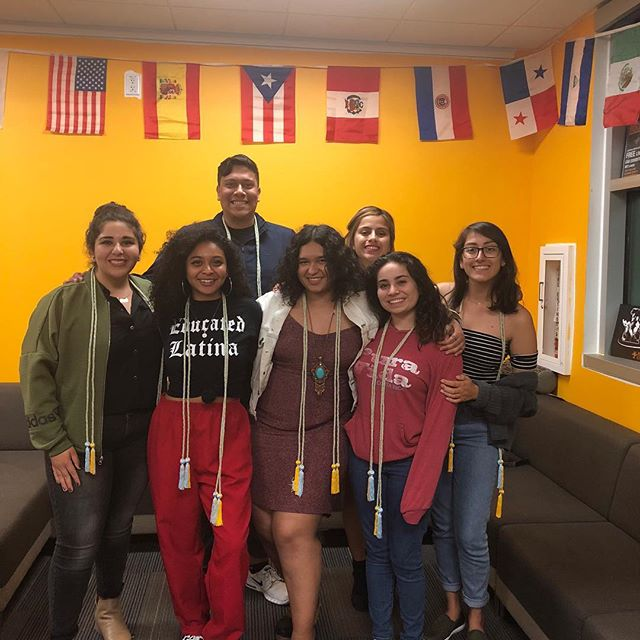 Also we can't forget a huge CONGRATS to our graduating Latinx Student Union seniors! Some of which were coordinators of Rockabilly Fest this year. The underclassmen have big shoes to fill, but we're certain they can do it. 😭🌹🙌🏼🎉🎈