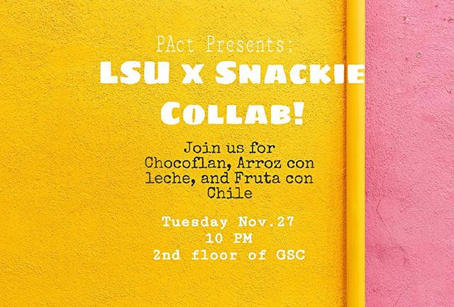 LSU X SNACKIE COLLAB IS GOING TO BE AMAZING TONIGHT!😍