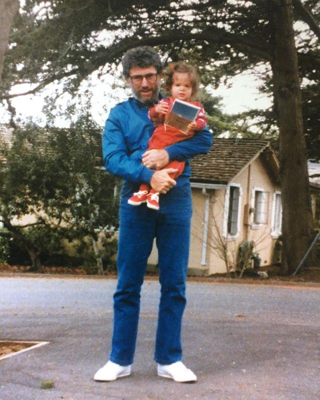 Dad of many ❤️ in my heart always and all around us, in peace. 16th Ave, Carmel, 1982. @jen_jerde @cjerde @davisfactor @daniel.factor @dinothemeano @jillfactor