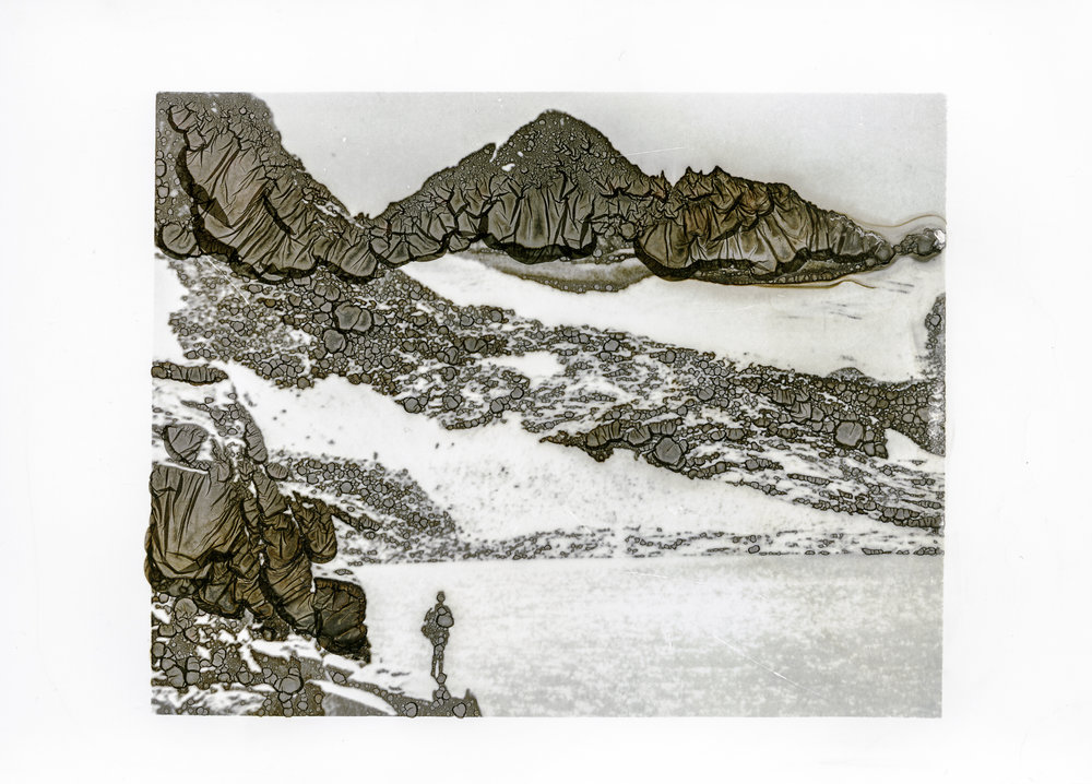 Maclure Lake/Glacier 1949