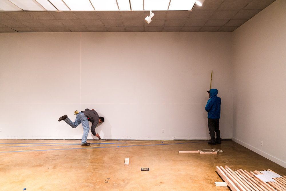 Bruce Nauman- REinstallation at Natalie Thompson Gallery
