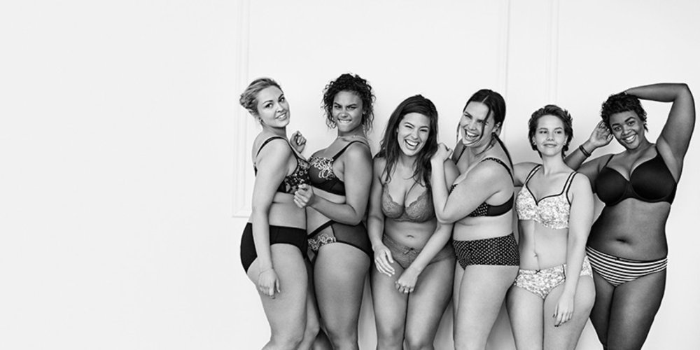 "Image from Lane Bryant's ""I'm No Angel"" Campaign"