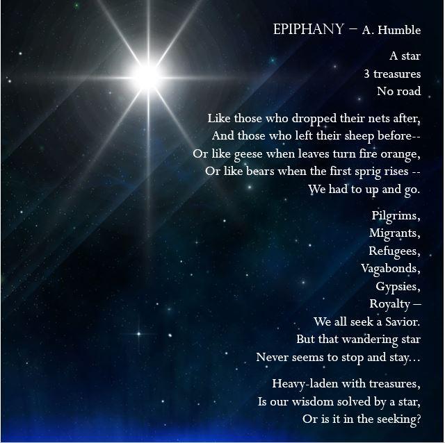 Epiphany: Matthew 2:1-12