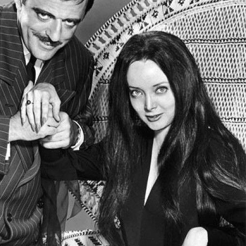 "Morticia Addams perks up whenever she hears ""Maundy Thursday."" (Image via Wikicomons)"