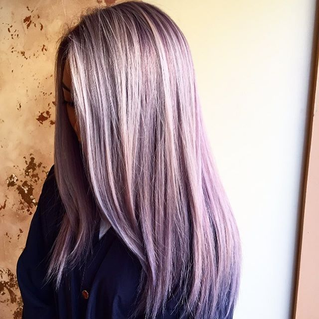 Love this color #balayage #colormelt #lavander #schwarzkopfusa #modernsalon