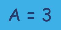 수학에서 XY 방정식에 수를 대입하는 것과 비슷하다.