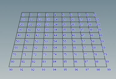 모든 지오메트리의 Point Number 는 항상 0 부터 시작한다.