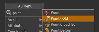 맨 위에 있는 Point 노드는 16에서 새로 나온 Attribute Expression SOP 이다.