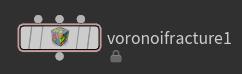 Voronoi Fracture 노드