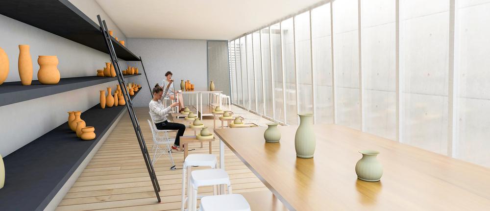 Studio/classroom space