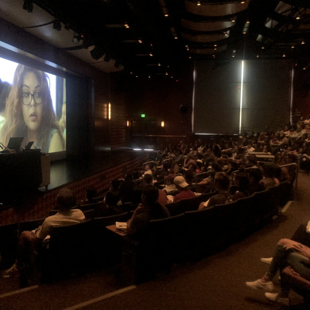 Screening Audience, Dulce on screen