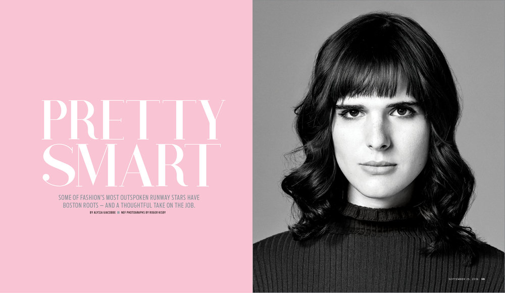 Hari Nef for Boston Globe Magazine