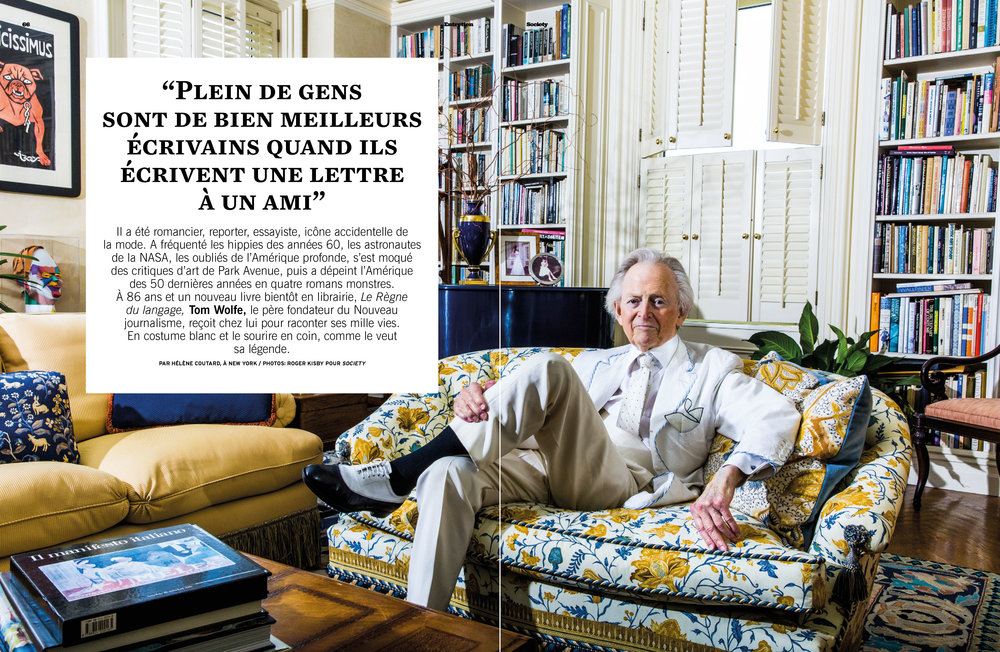 Tom Wolfe for Society Magazine