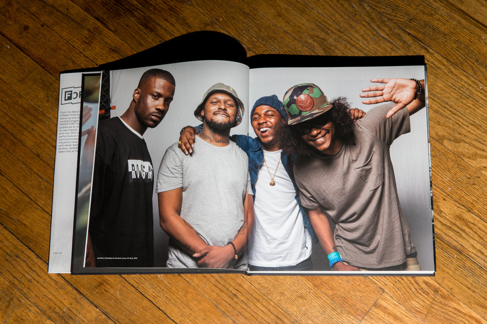 Fader Fort: Setting the Stage. Portraits from The Fader's annual music festival, Fader Fort.