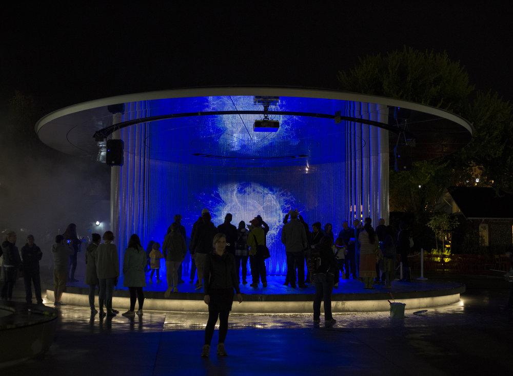 Levitating Landscapes  Immersive Light Art Installation Redmond, WA, USA, September 2018