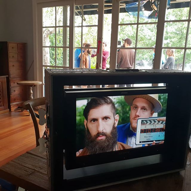 This week we're #filming a #webseries with @theauntydonnagallery in #melbourne - highly recommend you attend the #melbournecomedyfestival and see these guys. . . . . . . . #comedy  #comedians  #producer