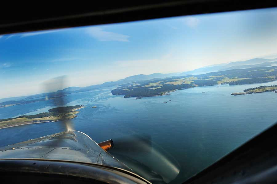 The views I would see from the Kenmore Air seaplane