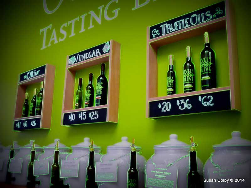 The Lively Olive offers exotic olive oil and balsamic vinegar tastings
