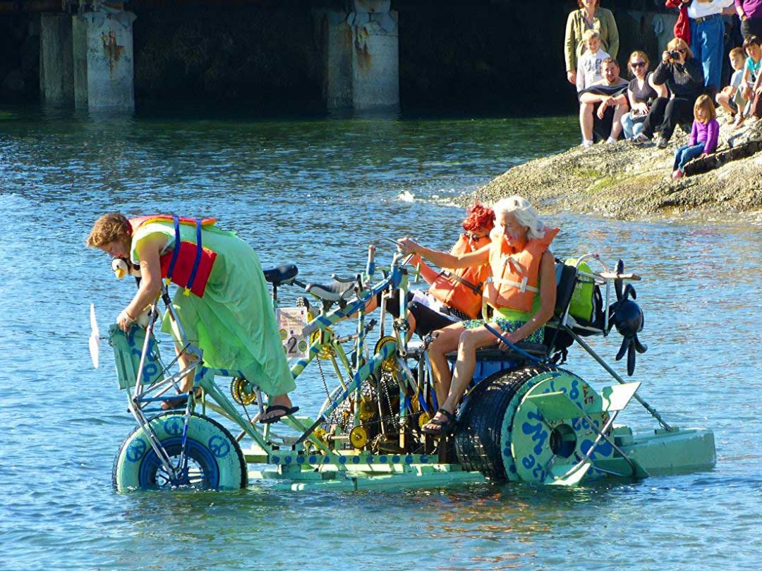 The Great Port Townsend Bay Kinetic Sculpture Race