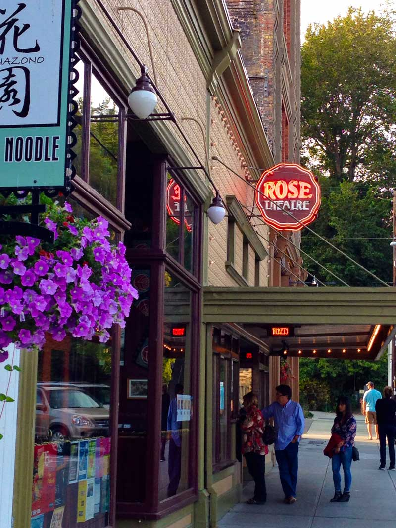 The Rose Theatre in Port Townsend, WA