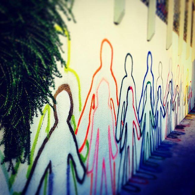 Graffiti - family style #silverlake #graffiti #family #art #wallart
