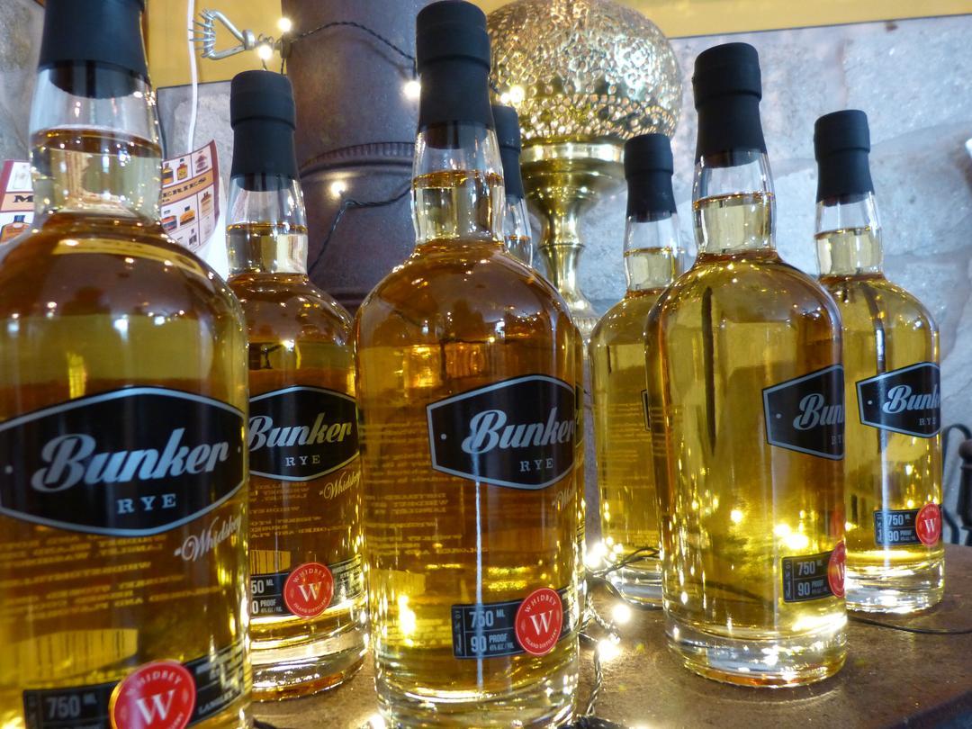 Bunker Rye Whiskey