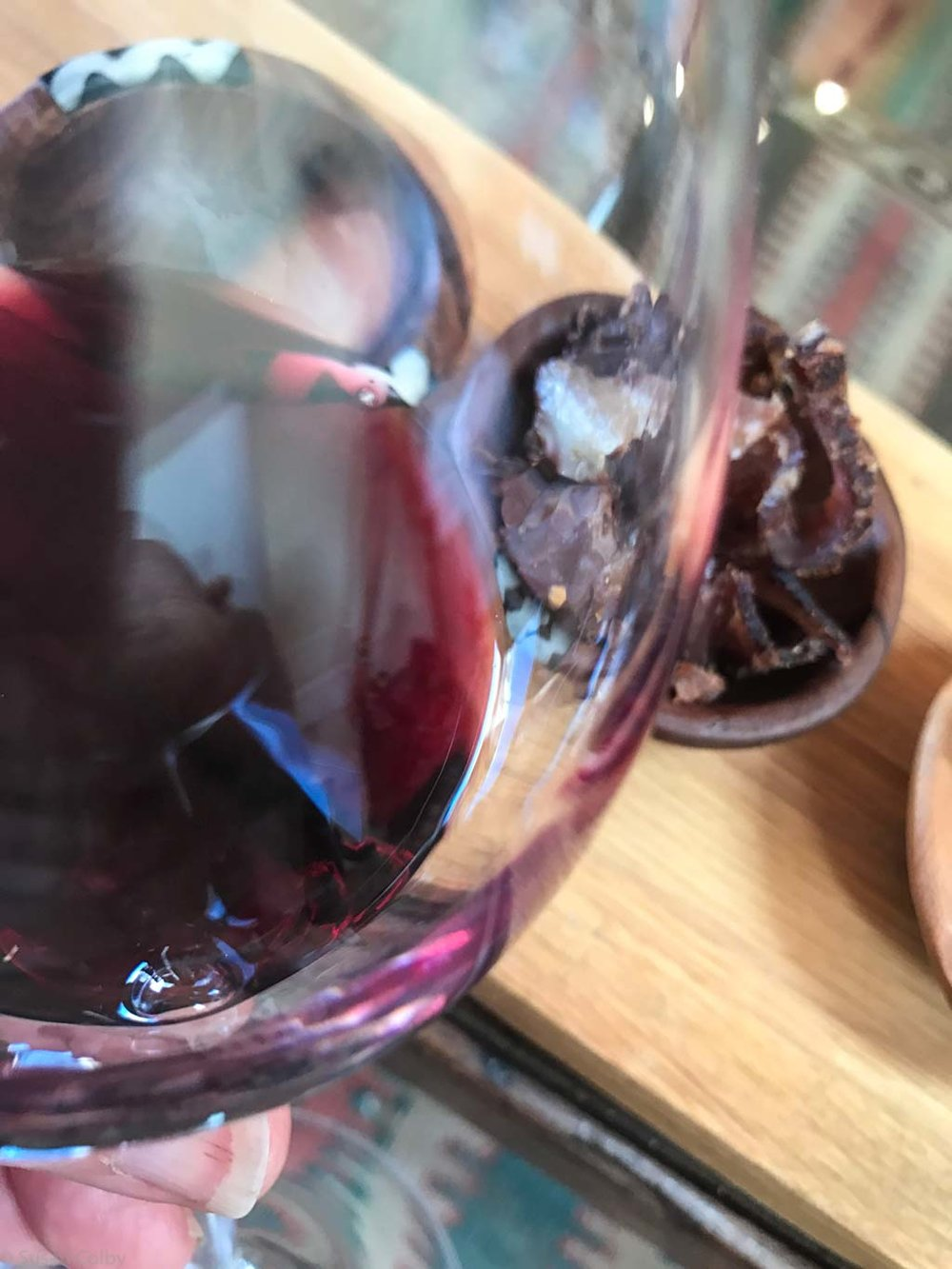 Biltong and wine - who'd've thought?