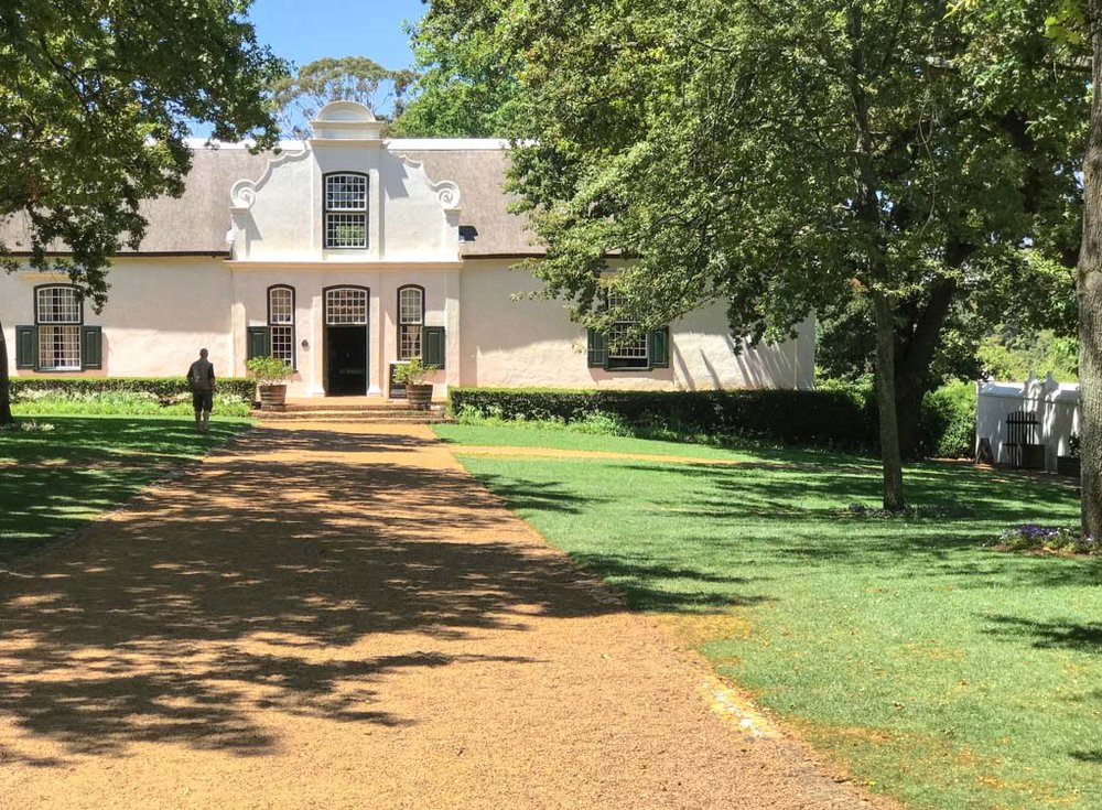 The old manor house at Boschendal