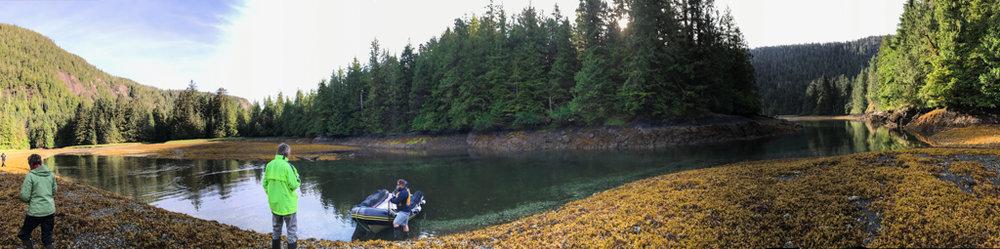 A shore excursion