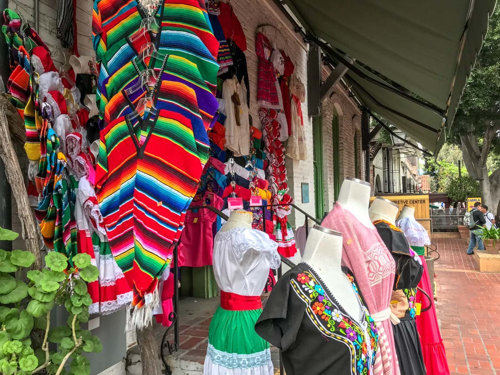 Exploring Olvera Street in Los Angeles