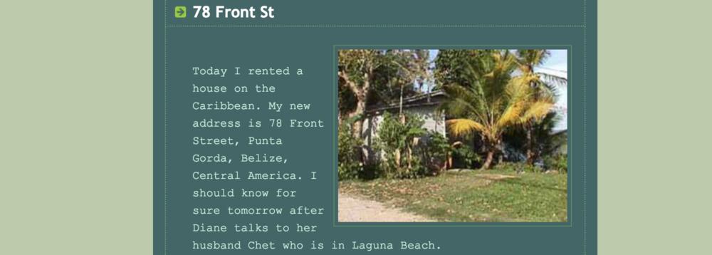78 Front Street, Belize