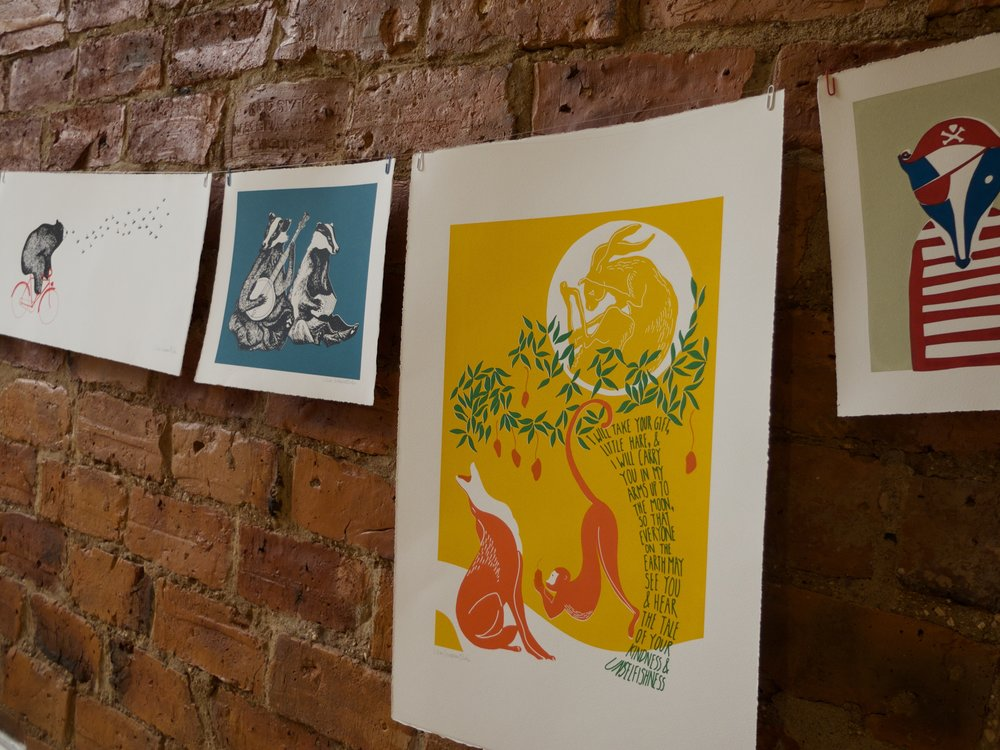 Screen Prints by Lillias