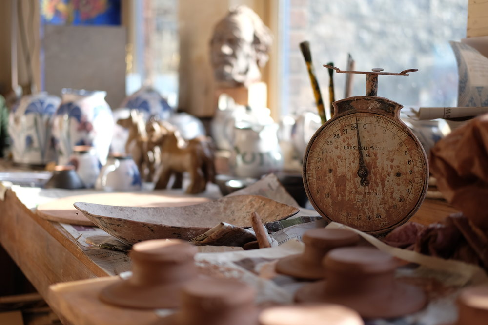 Kinsman Blake Gallery, Smailholm, Ceramics, Pottery, Studio, Workshop