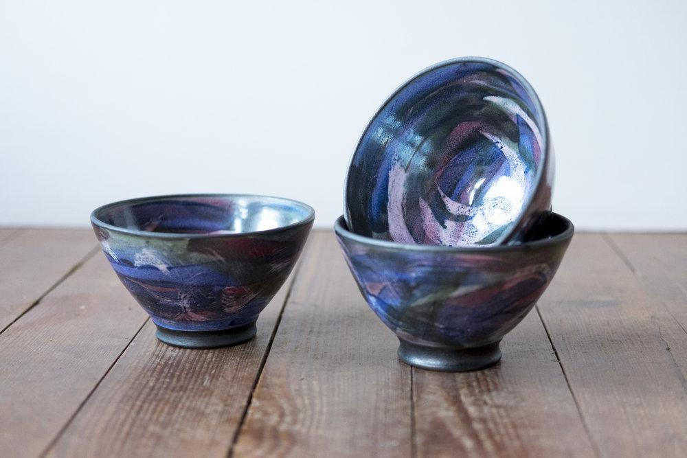 KInsman Blake Ceramic  Pudding Bowls Random Pattern