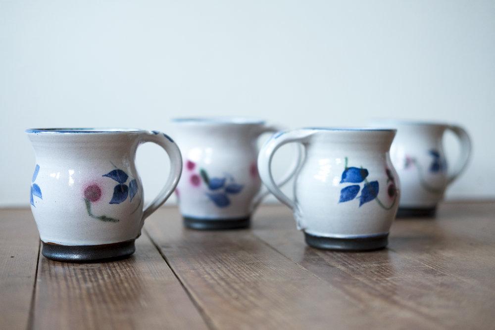 KInsman Blake Ceramic  Mugs Petal Pattern