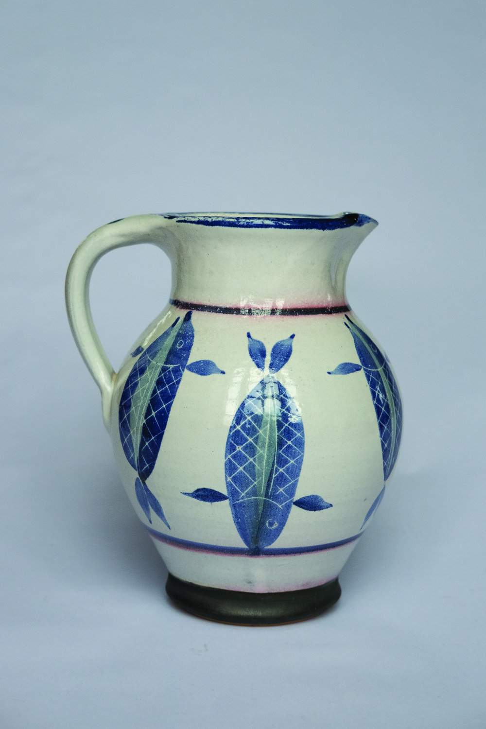KInsman Blake Ceramic  Jug Fish Design