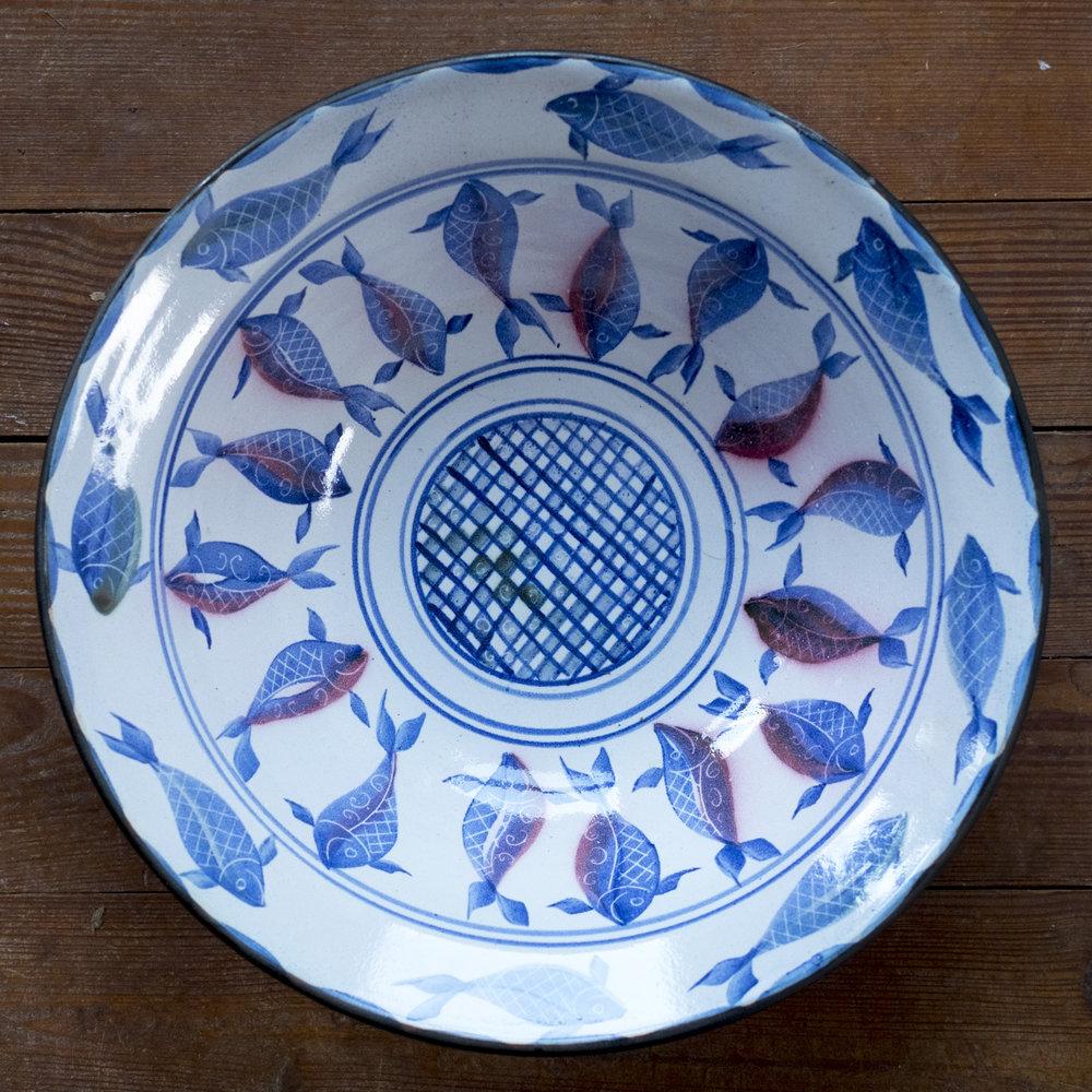Kinsman Blake Ceramic Fish Design, Dish, platter
