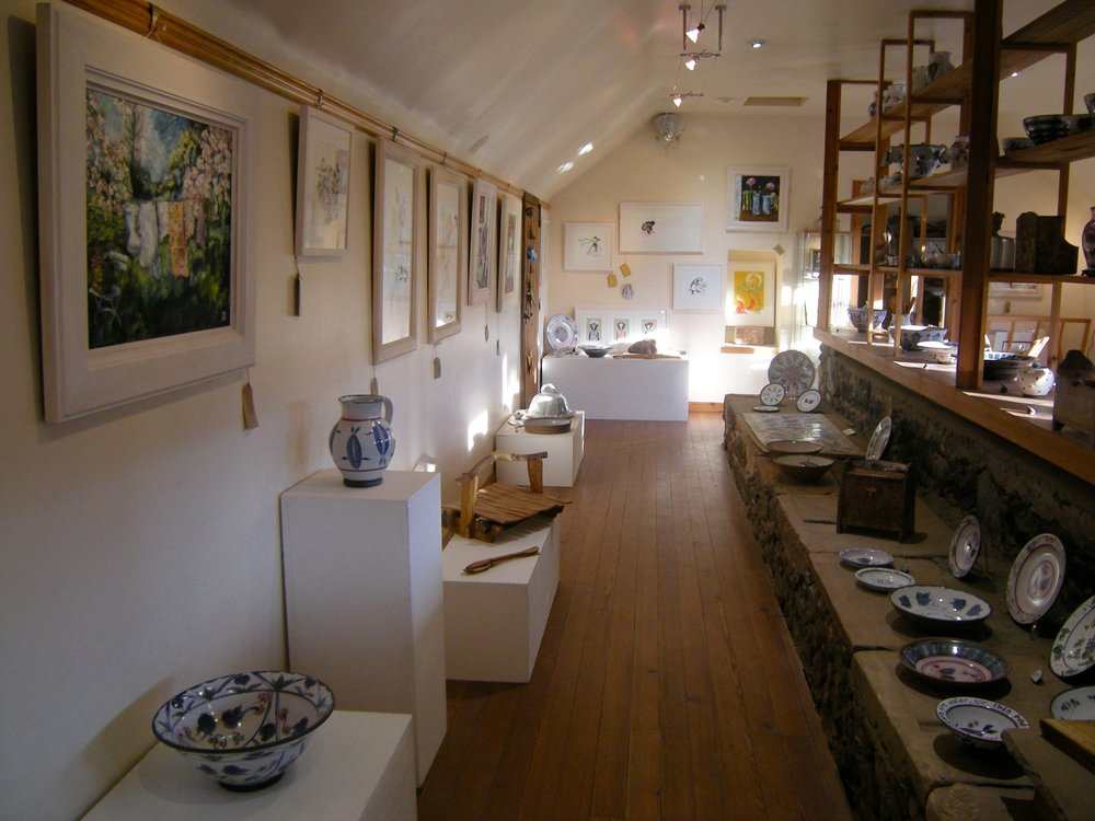 Gallery,  Oil Paintings, Pottery, Jug, Screen Prints Kinsman Blake