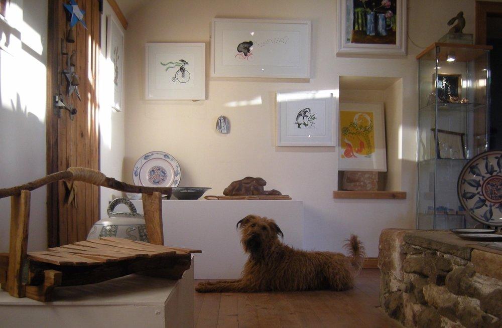 Kinsman Blake Gallery, Rusty, Screen Prints, Plates, Wood work.jpg