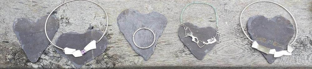 Kinsman Blake Jewellery, Silver, Amethyst, Aquamarine, Flying Trapeze .jpeg