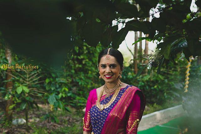 His forever was as simple as her smile ❤️ . . . . . . . . . #southindianbride #southindianwedding #kannadigabride #southindiansaree #pattusaree #silksaree #bridalmakeup #bridalmua #fotd #weddingtrends #indian_wedding_inspiration #indianbride #bridalfashion #shopzters #magmod #godoxindia #fearlessphotographers #wedmegoodsouth #happybride #altarnarratives #weddingphotographerinindia #weddingphotographerinchennai