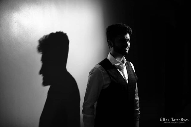 When unedited shots transform into stark black and white portraits!!! Never been this  excited about Groom Portraits😂 . . . More to follow!  #groomswag #chennaiweddingphotography #chennaigroom #groomportrait  #teamgroom #justengaged #engagement #shootraw #starkshadows #wedmegood #shopzters #fearlessphotographer #magnetmod #elopementcollective #engagementphotography #candidweddingphotography