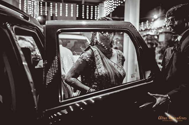 This is a personal favorite of mine. Not only does it put subjects within a frame, it also shows the bride in the moment, very Candid and a little nervous, also while showing her brother - sincere sibling, her best man, holding the door open for her. ♥️ . . . . . . . . . . . . #weddingphotojournalism#weddingphotography #wpaigram #pepprofessionals  #awesomebnw #bnw_society #southindianbride #southindianwedding #bridalmakeup #bridetobe #bestman #bridalasia #shaadiwish #chennai #weddingjitters #prettybride #lightandshadow #popxowedding #shopztersbride #wedmegoodsouth #wppi #madewithmagnetmod #magnetmod #godoxindia