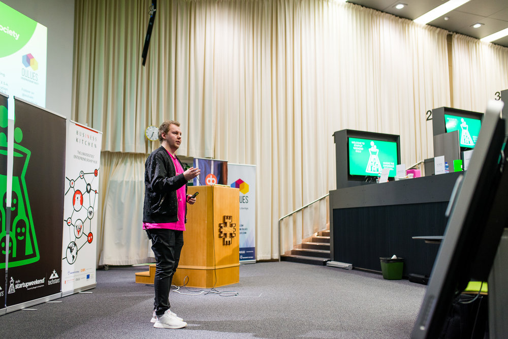 I got to be the main organizer of Startup Weekend Oulu twice! Next step is then to apply to become a global facilitator… Photo: Lasse Lehto