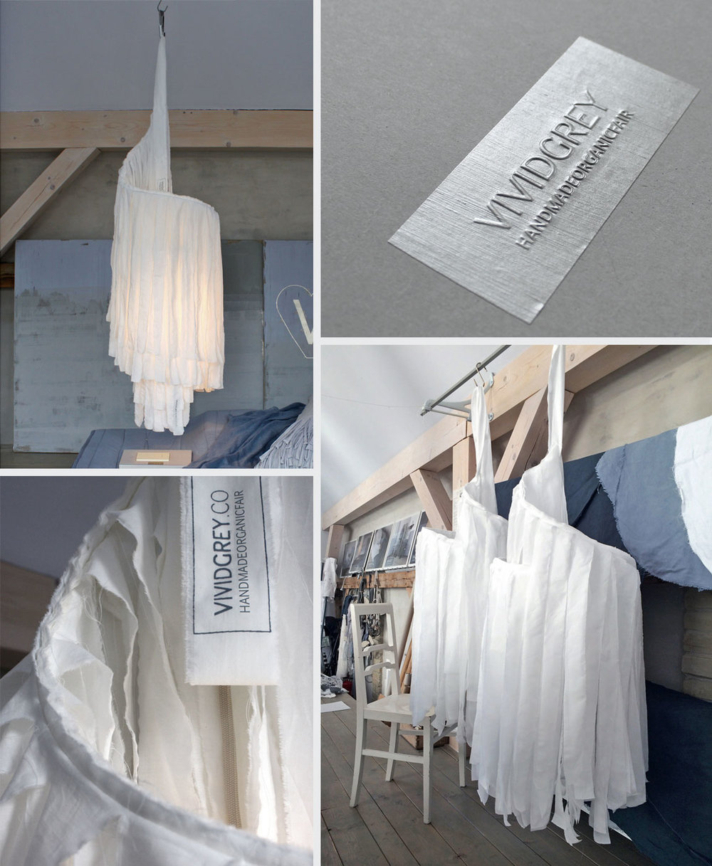 Shown above & below:   Slumber Shade – White  . Colour option:   Slumber Shade – Chalk Grey