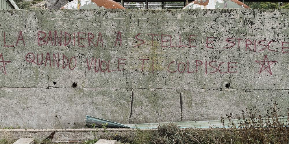 Stazione Troposcatter NATO - Monte Limbara, Sardinien (1/9)