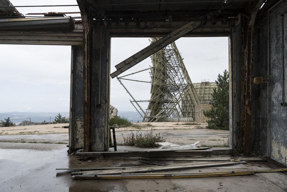Stazione Troposcatter NATO - Monte Limbara, Sardinien (3/9)