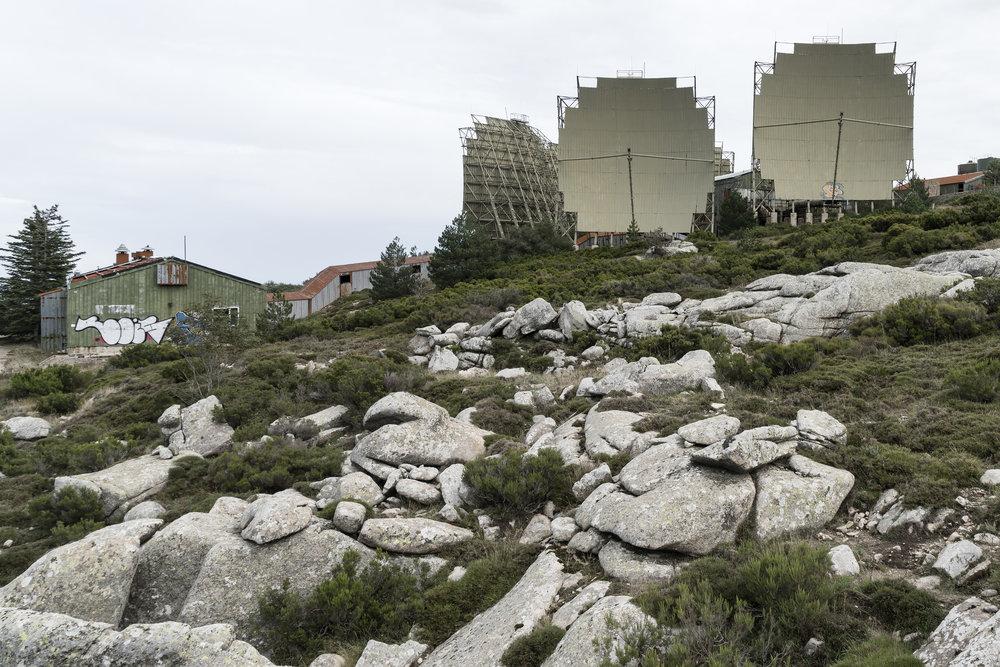 Stazione Troposcatter NATO - Monte Limbara, Sardinien (2/9)