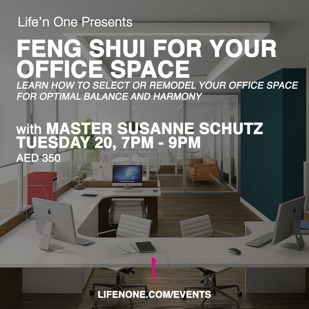 Classical Feng Shui for Your Office with Master Susanne Schutz
